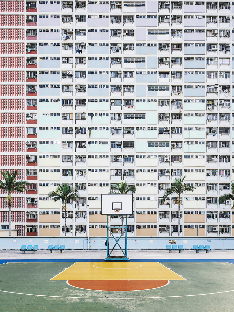 Colorful Playground In Hong Kong