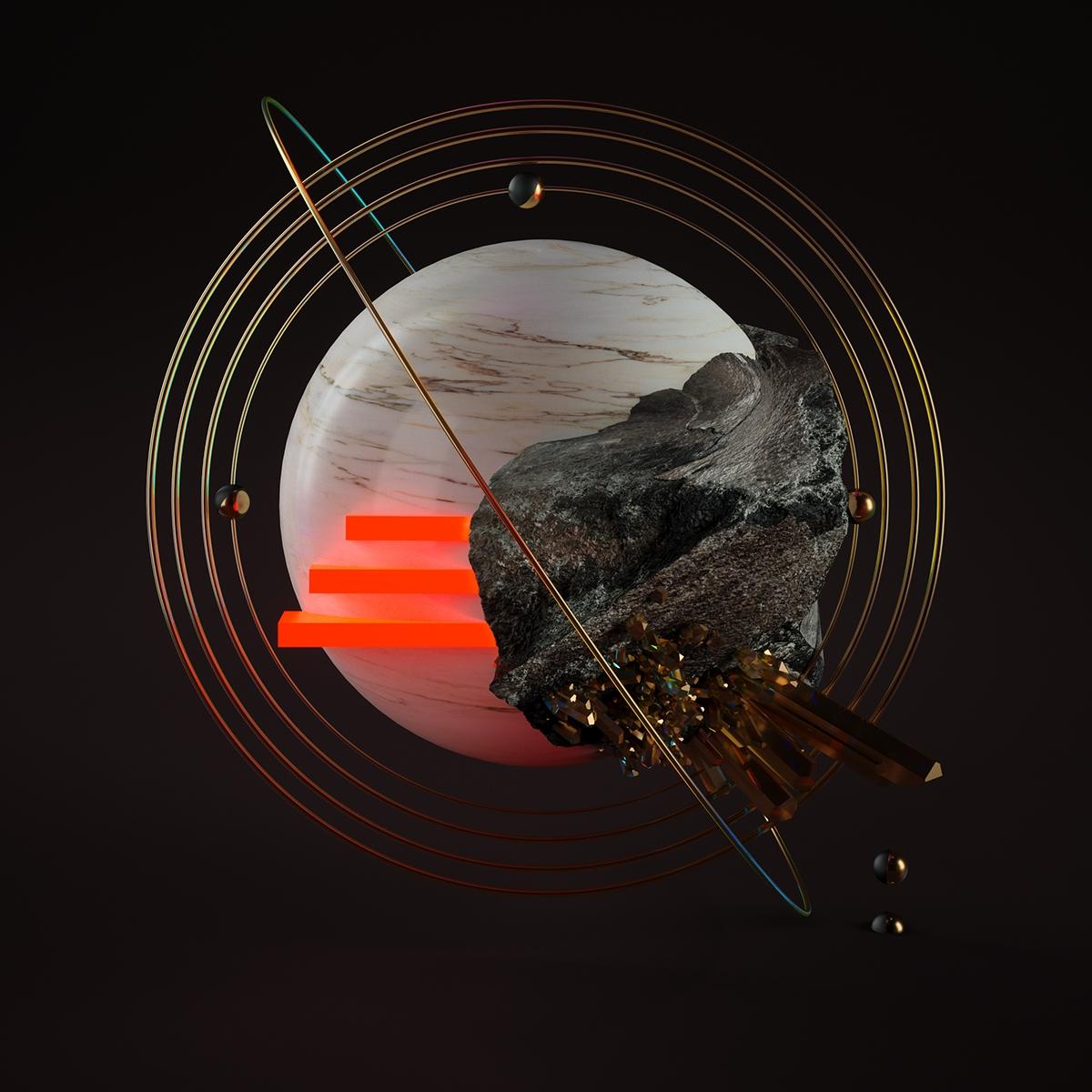 OUUM Render Mag: monthly artworks CGI by Yarko Kushta
