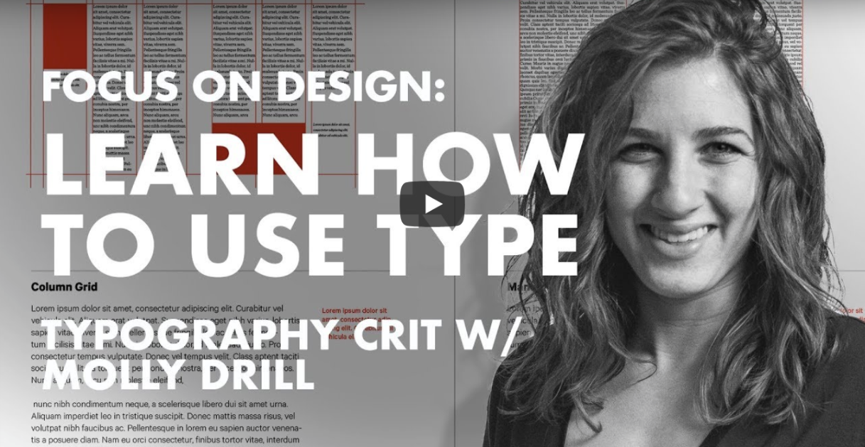 Learn How To Use Type – Typography Manual Critique