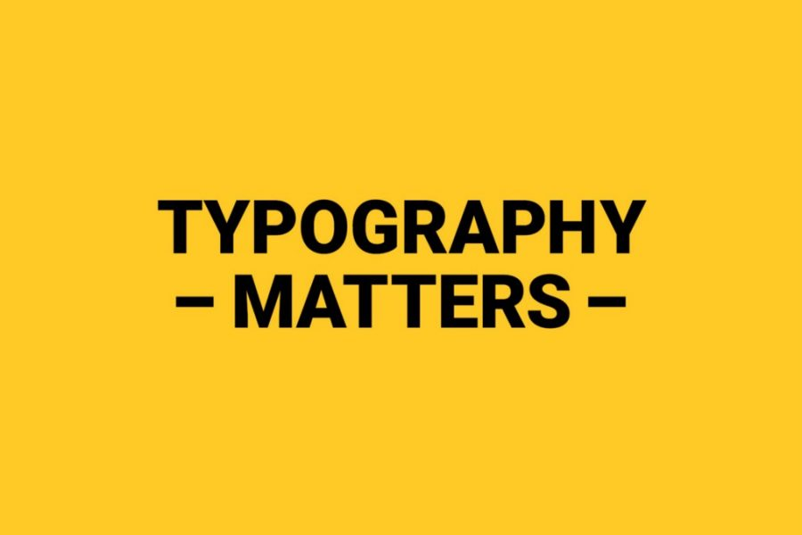 What should a new designer know about typography?