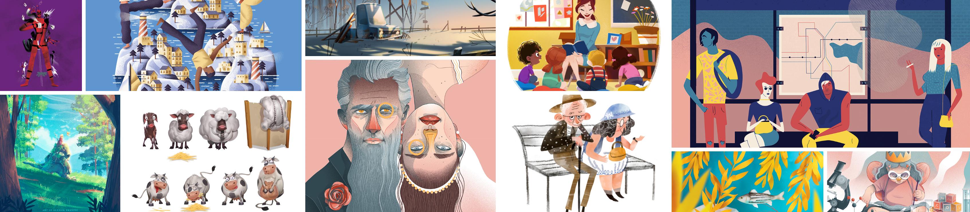 Beautiful Illustrations – Week 4
