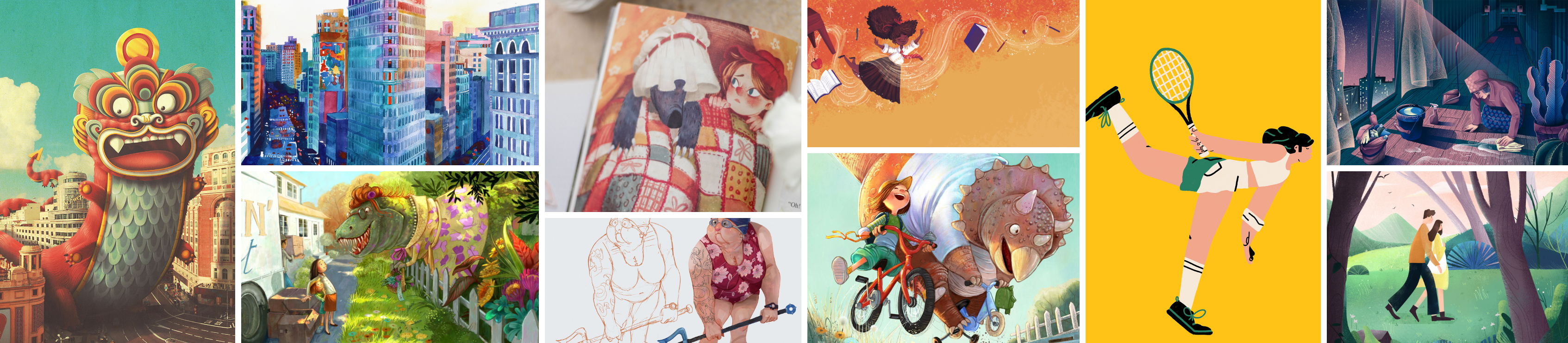 Beautiful Illustrations – Week 6