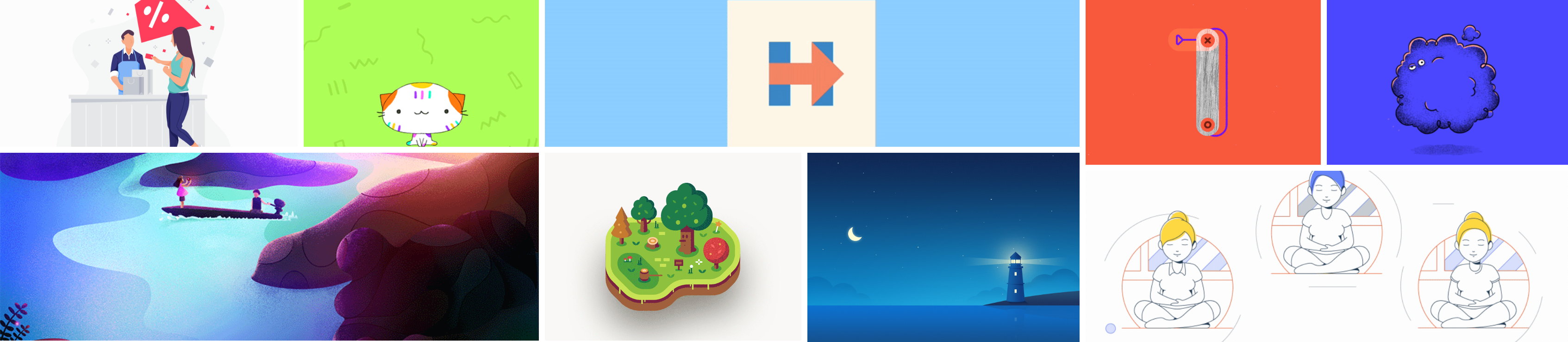Motion Graphic Inspirations – Week 4