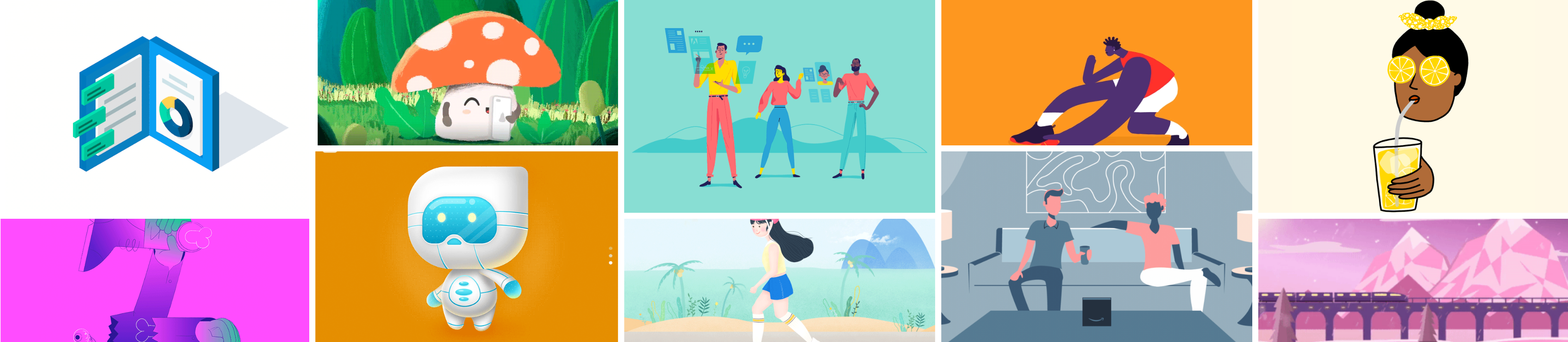 Motion Graphic Inspirations – Week 6