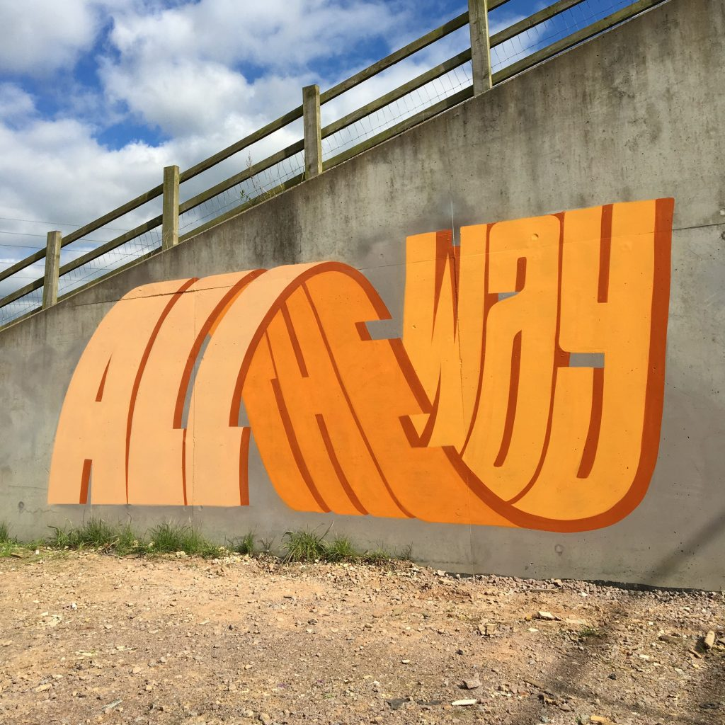 Street Artist Uses Incredible 3D Typography (1)