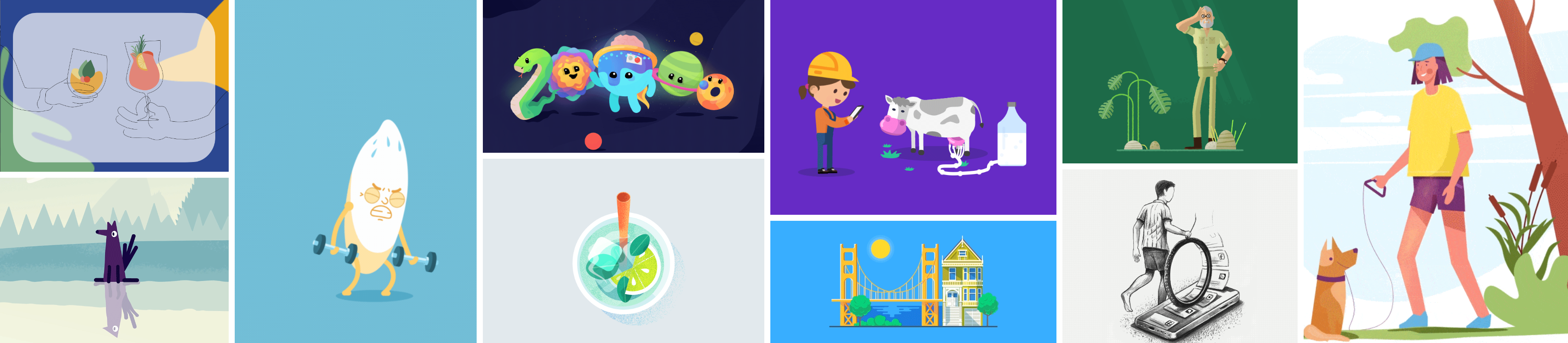 Motion Graphic Inspirations – Week 9