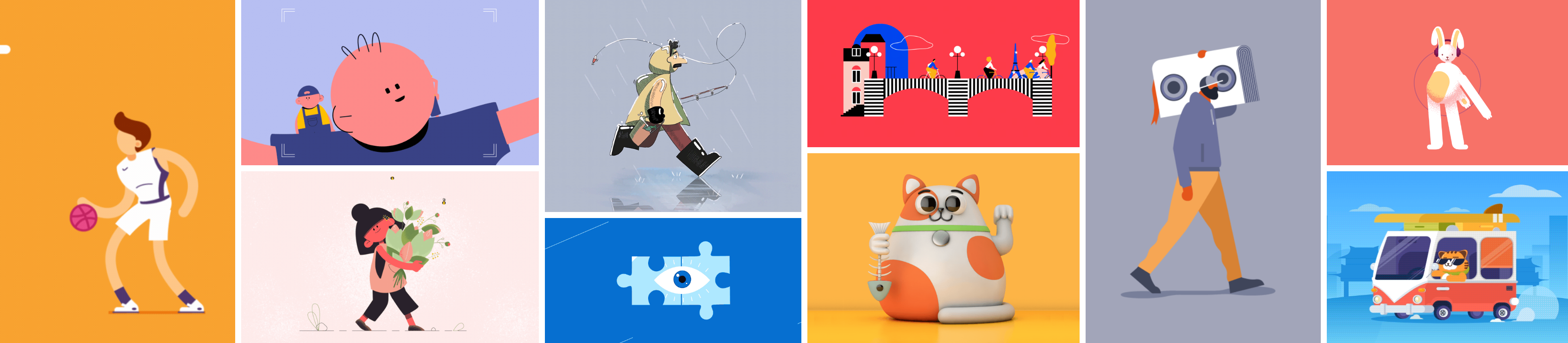 Motion Graphic Inspirations – Week 11