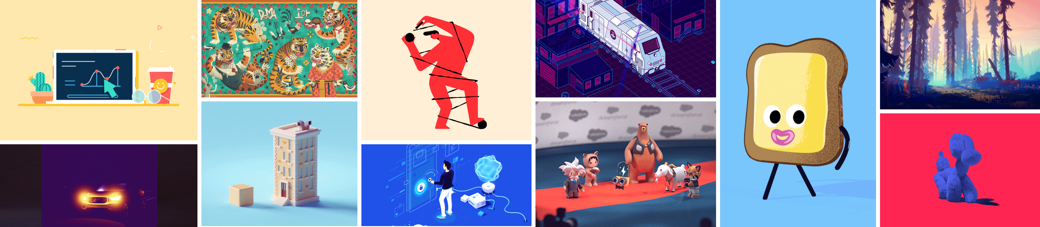Motion Graphic Inspirations – Week 13