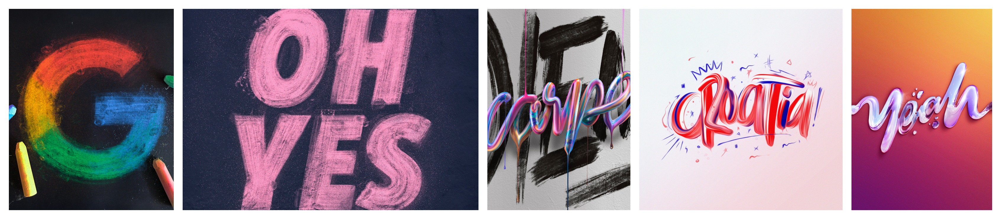 Typography Experiment Collection