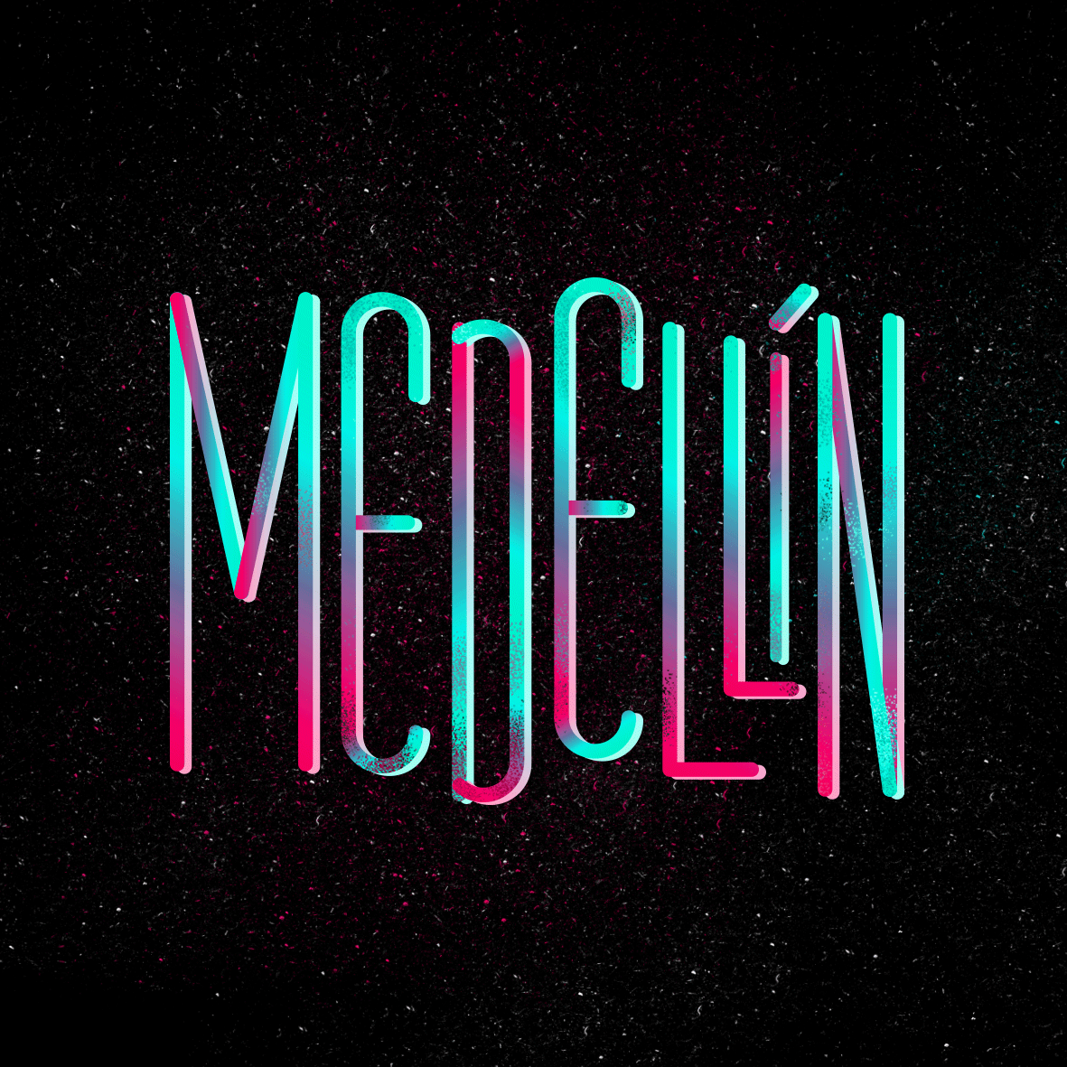 Beautiful Personal Typography by Andrea Núñez