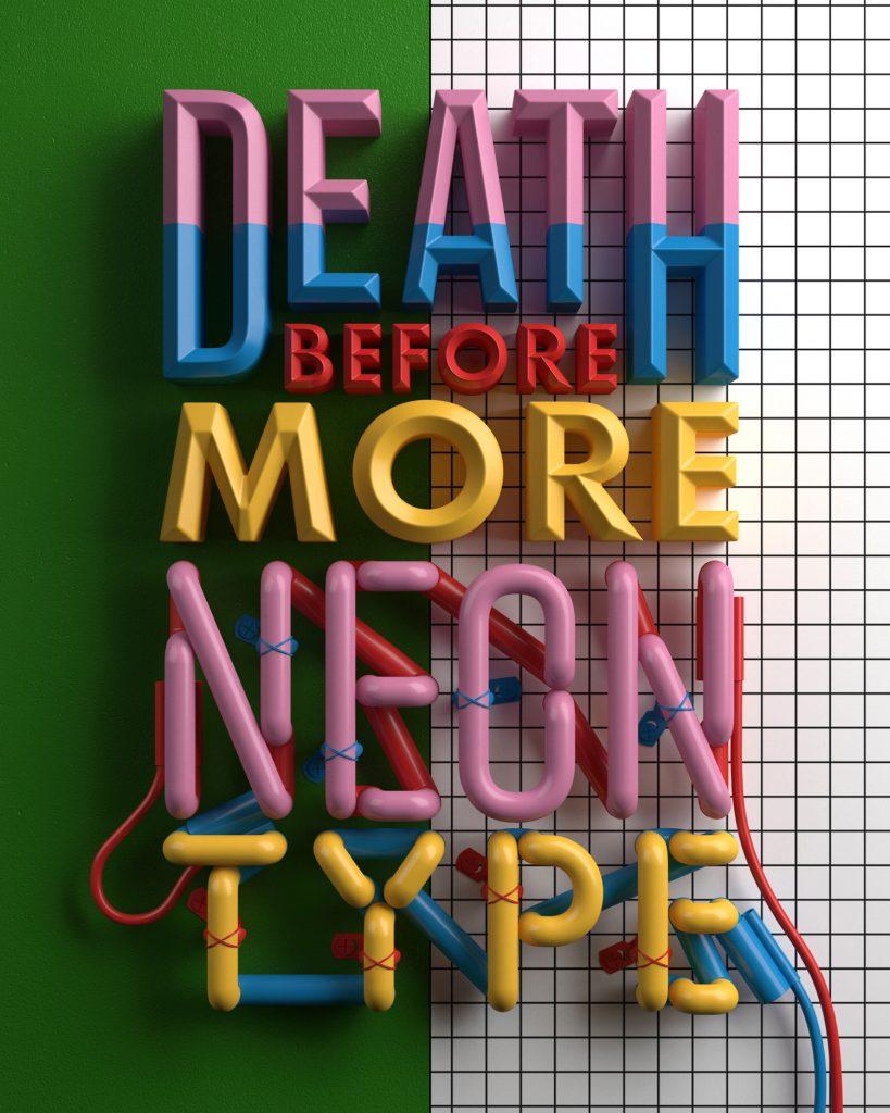 Joyful Typography Design by Alejandro López