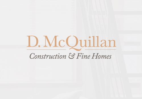 D. McQuillan Construction and Fine Homes logo