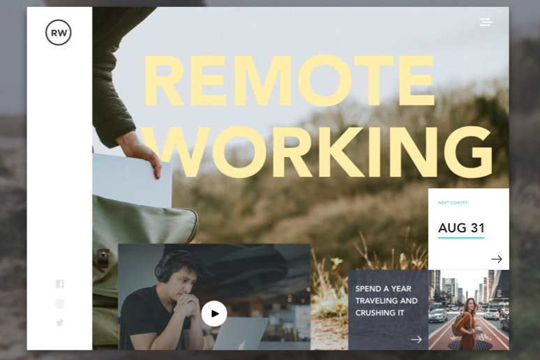 Remote working design
