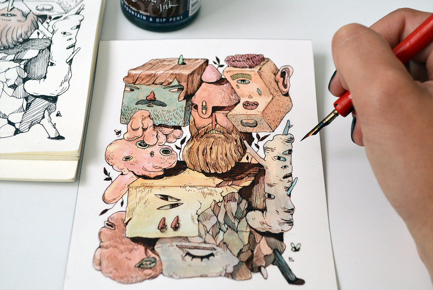 Illustration and Painting - Drawing