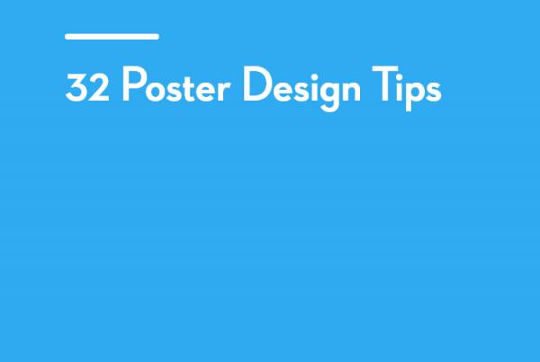 32 Poster Design Tips