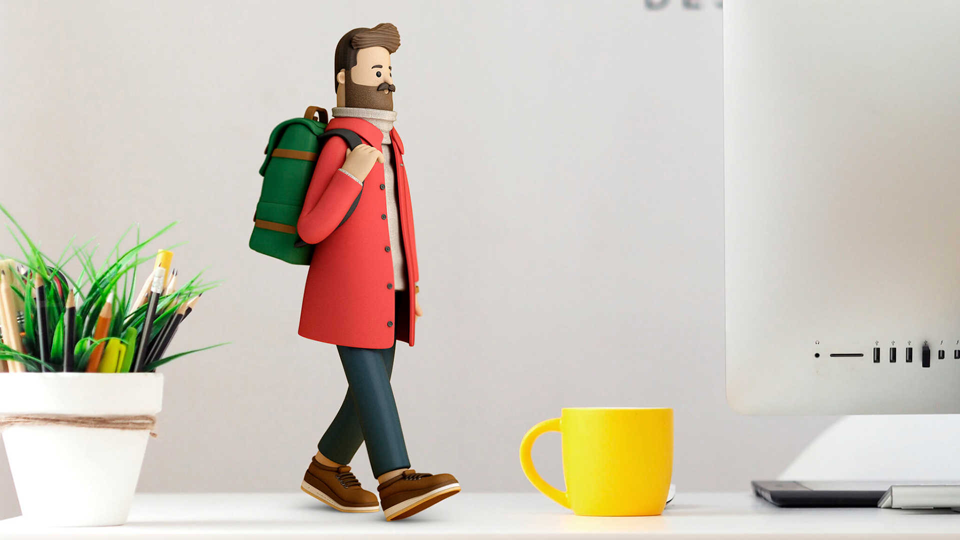 Character Design and Illustration and Graphic Design