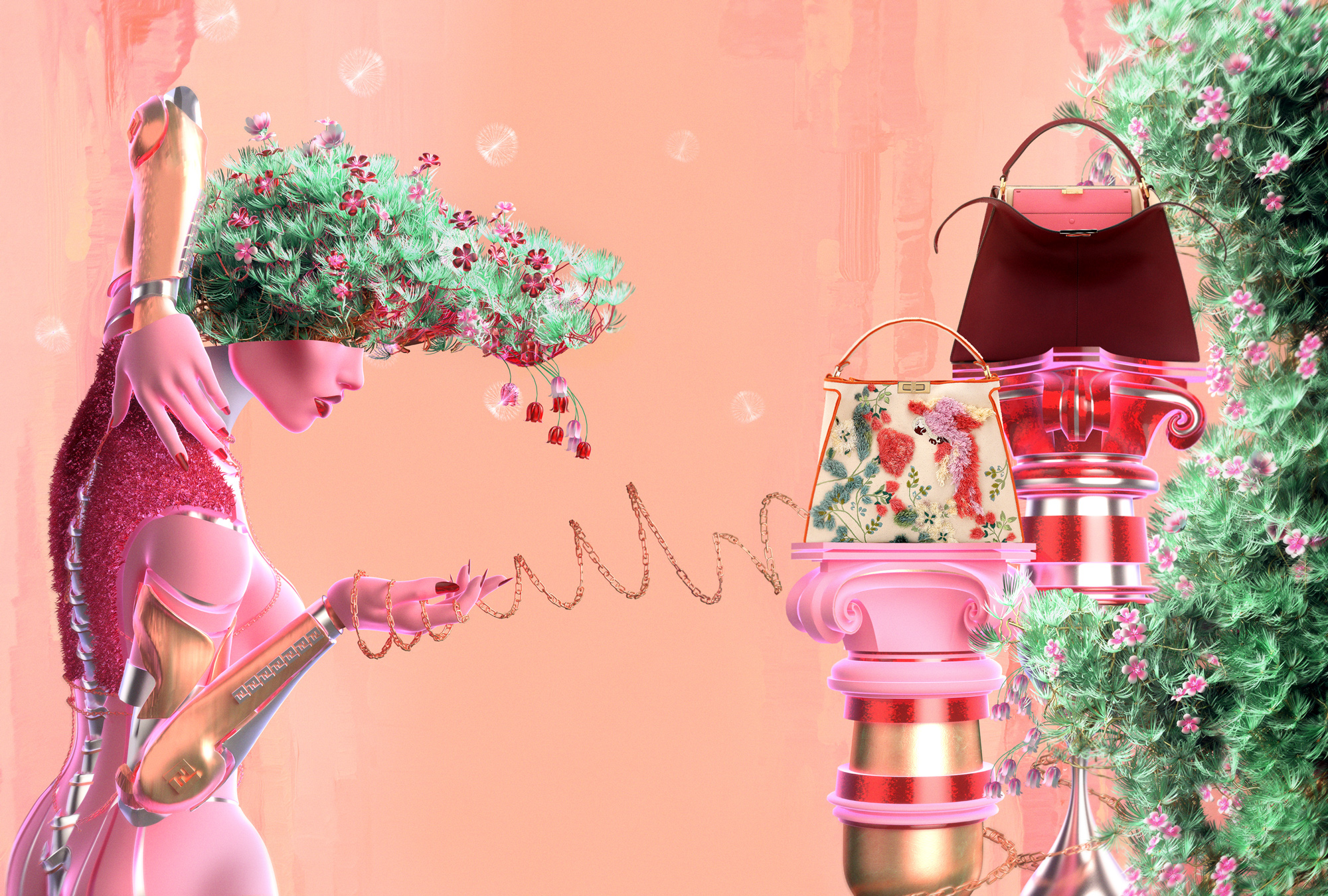 Fashion and Illustration and Art Direction