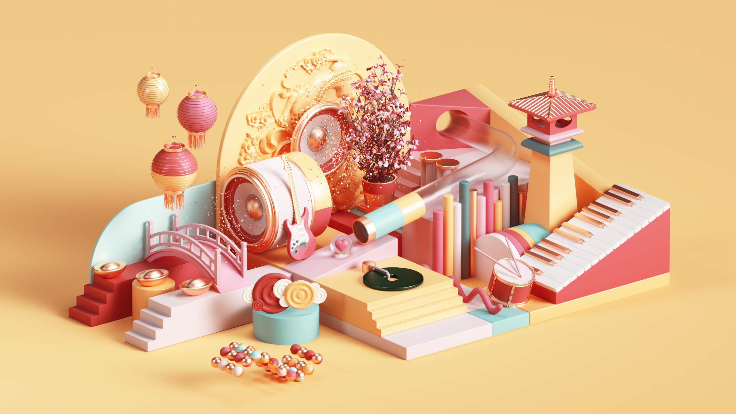 Art Direction and Illustration and Digital Art