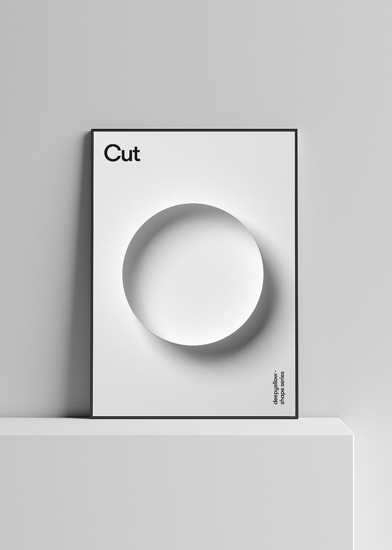 Minimalist Geometric Poster Designs