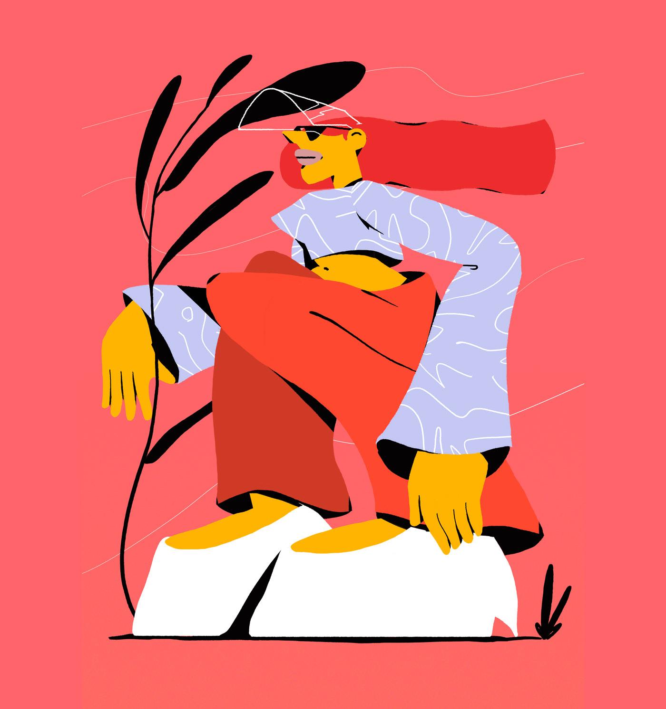 Illustration, Character Design, Digital Ar