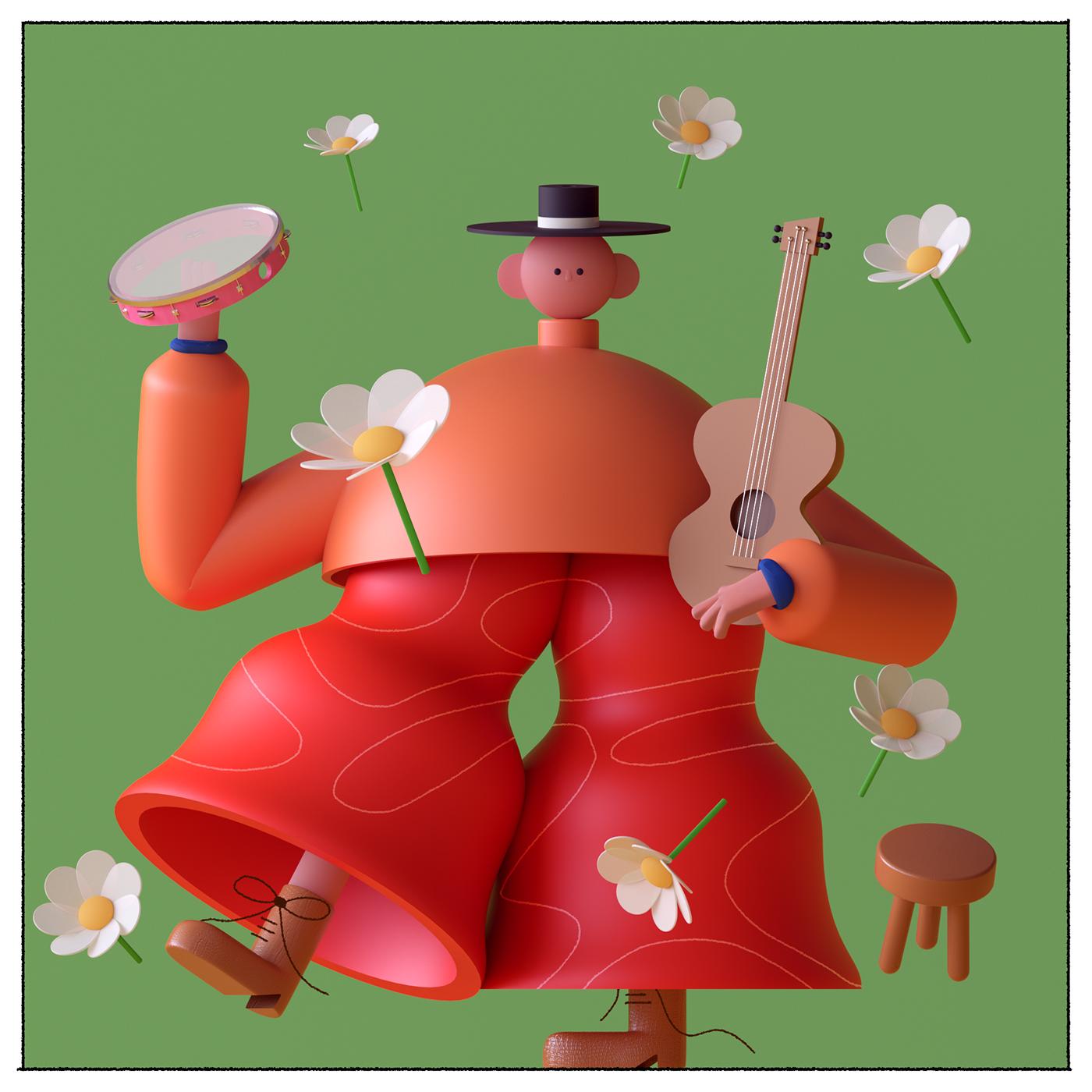 Illustration, Character Design