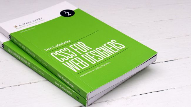20 awesome books for web designers
