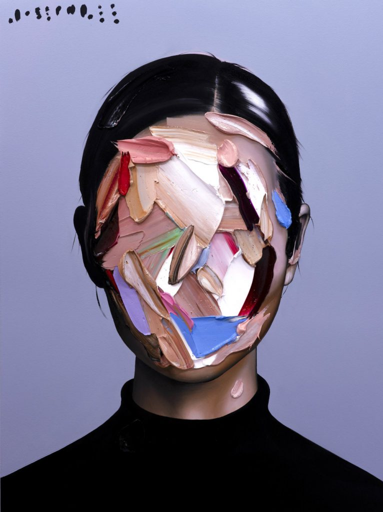 Colorful Abstract Portraits by Joseph Lee
