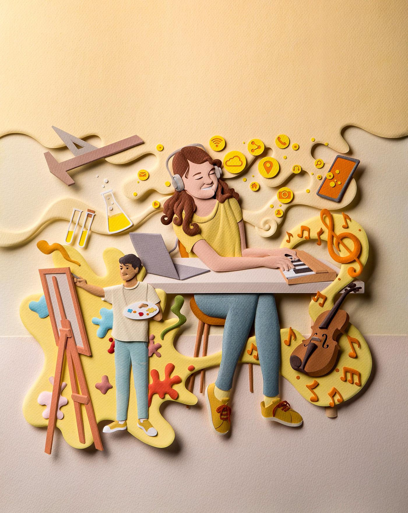 Illustration, Graphic Design, Crafts
