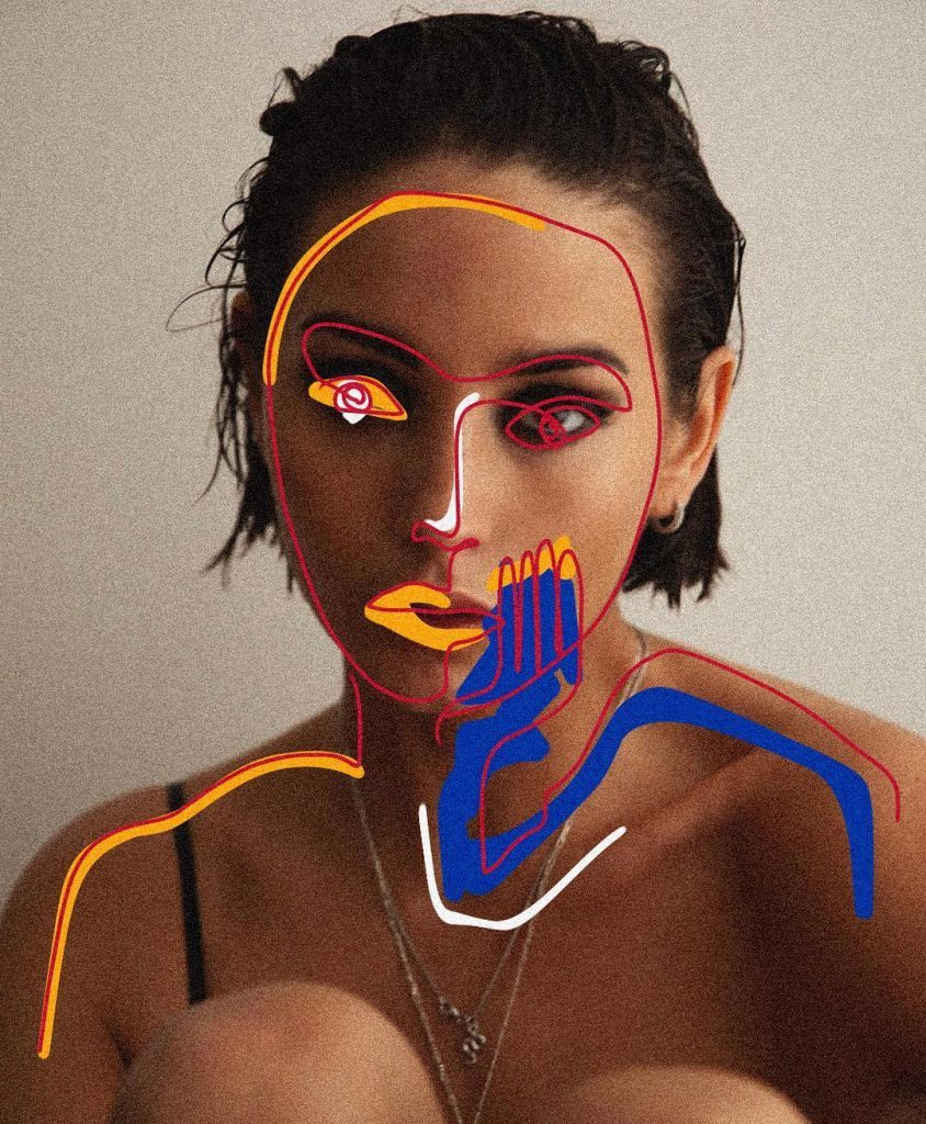 Simple Portraits Become Artworks by Zaid Zawaidah