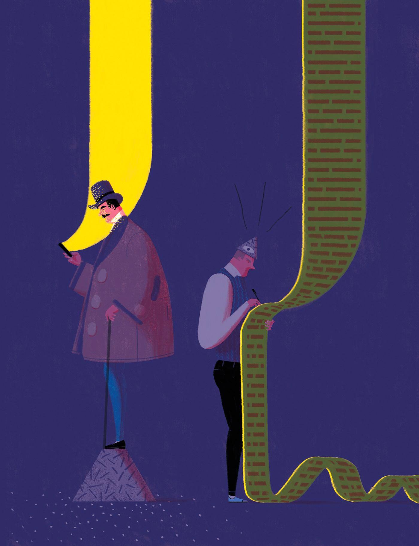 Illustration inspiration, Digital Art