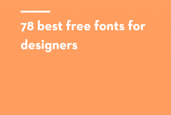 78 free fonts for artists