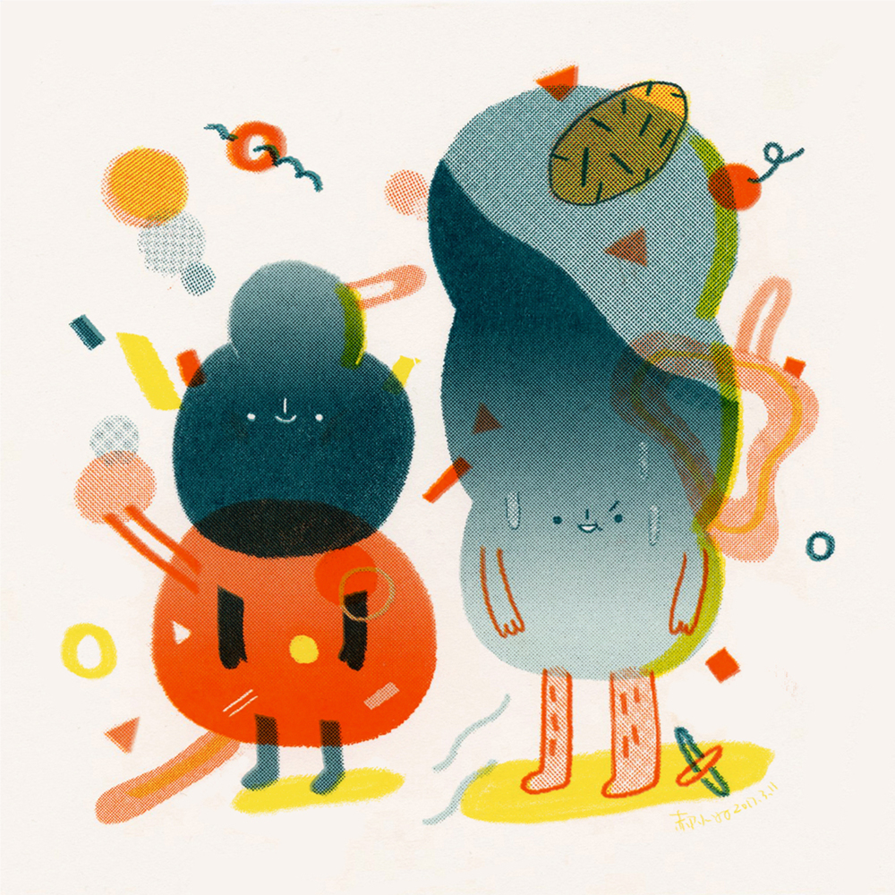 Illustration,Print Design,Drawing