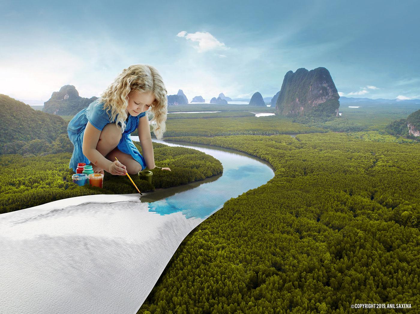 Creative Direction,Digital Art,Retouching