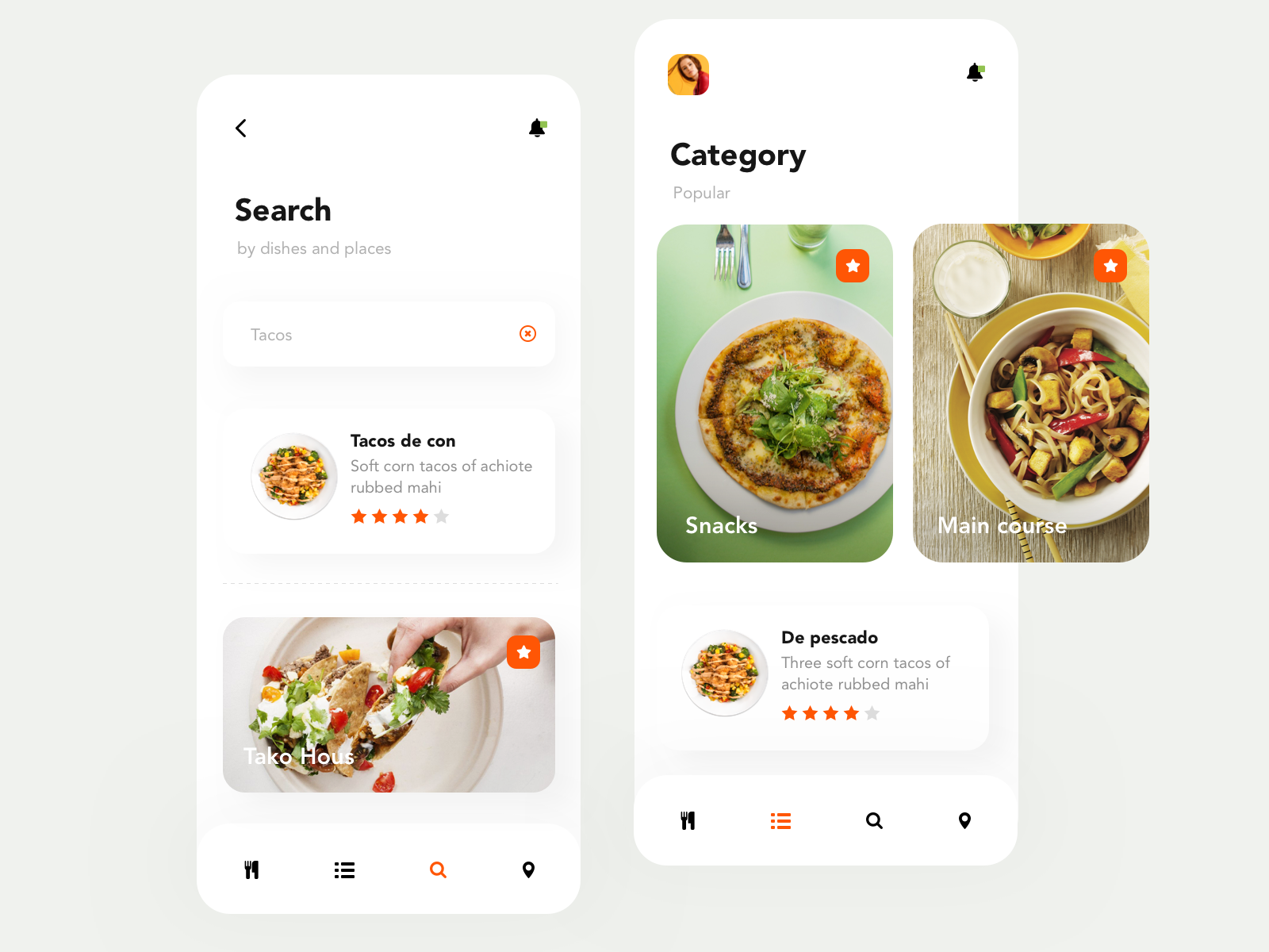 Calorie food tracking app search