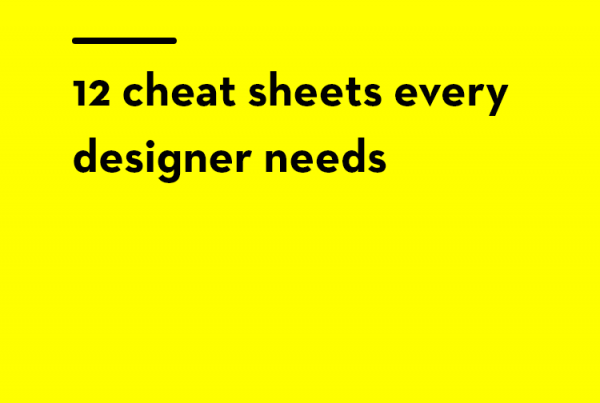12 cheat sheets every designer needs - gillde - 8