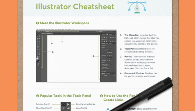 Illustrator cheat sheet