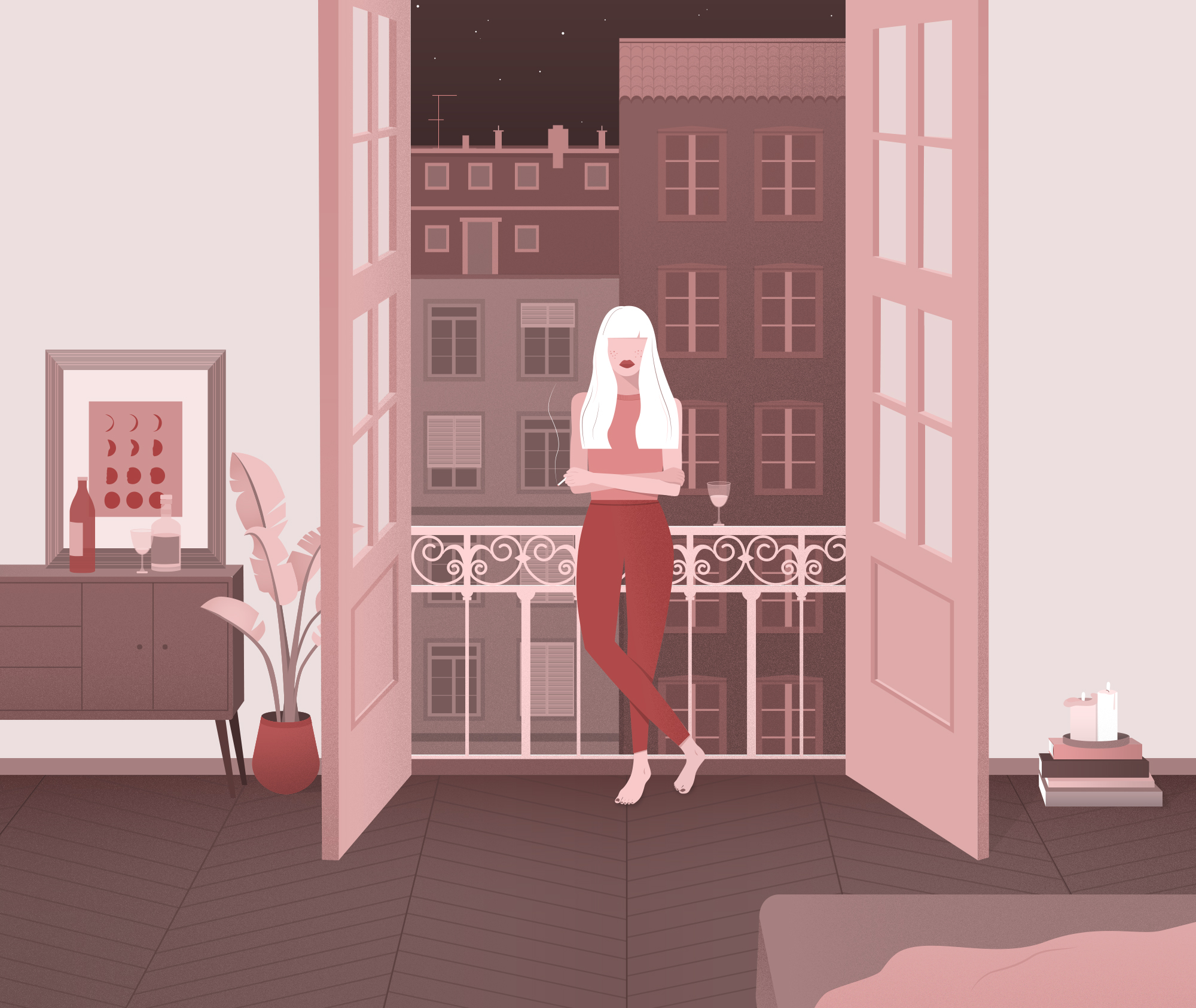 Beautiful Illustrations with a Vintage Vibe By Kati Kohl