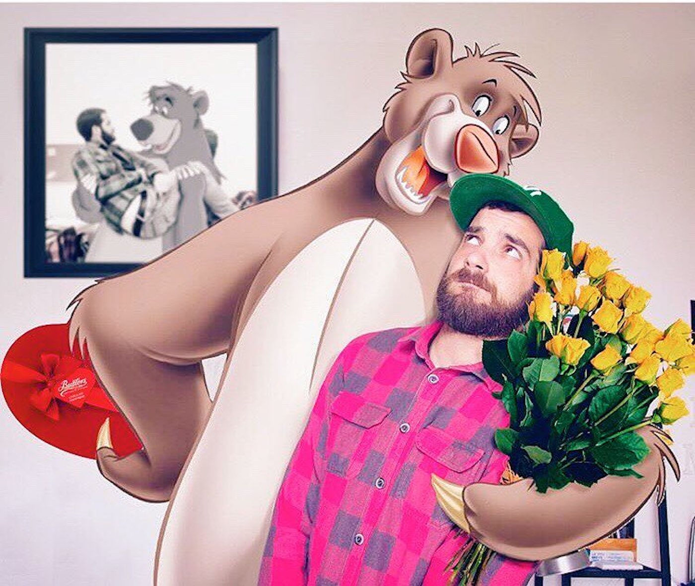 Disney Characters in Real Pictures By Luigi Kemo Volo