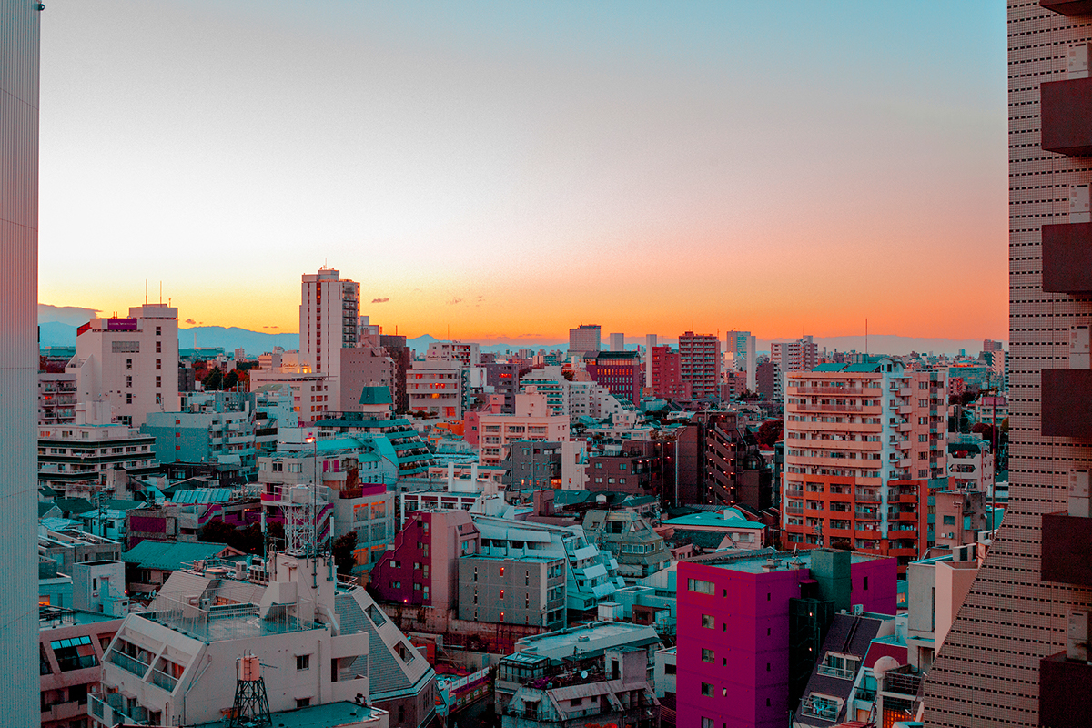Exploring the Architecture of Tokyo By Yulia Shur