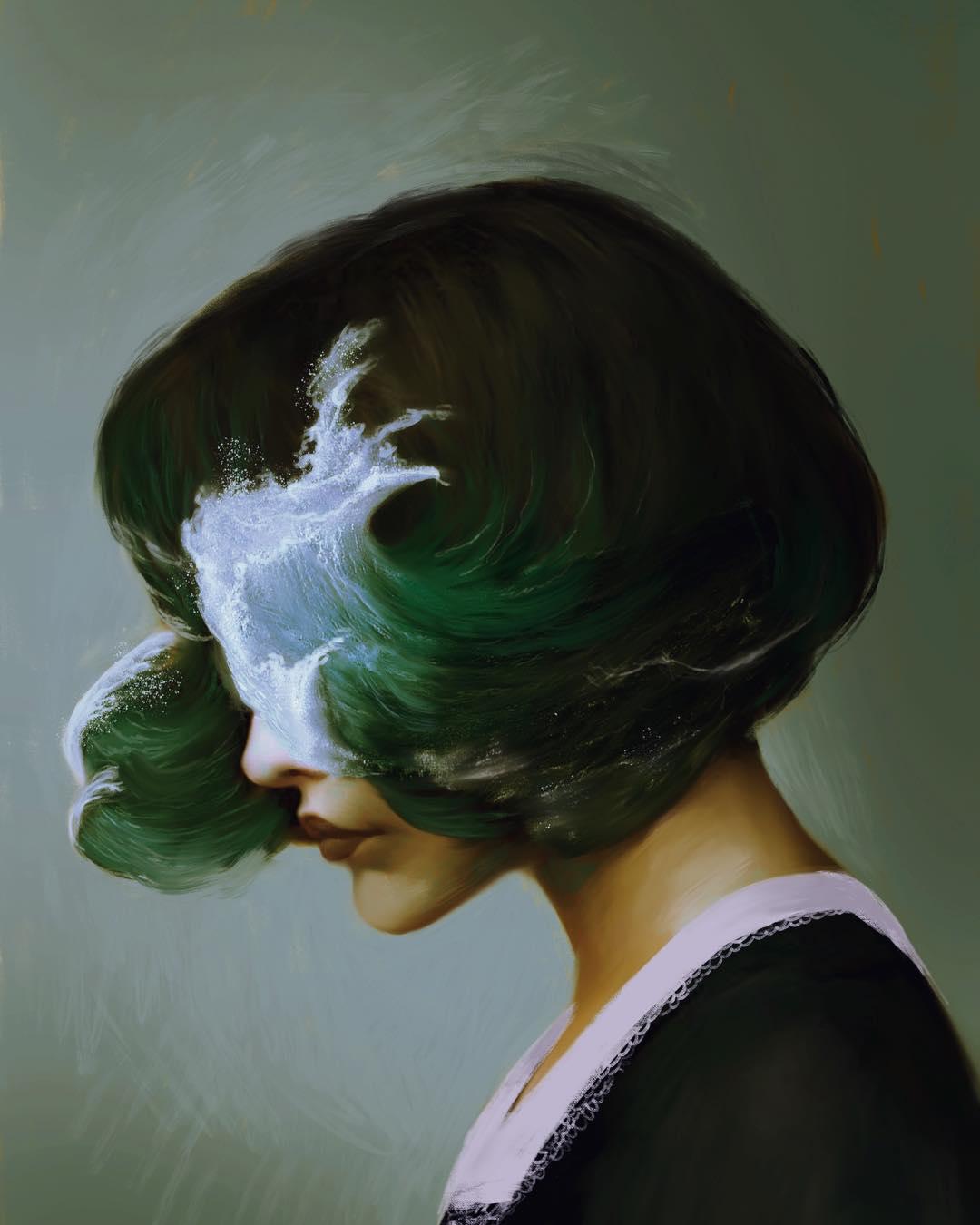 Beautiful Surreal Figurative Artwork by Aykut Aydogdu