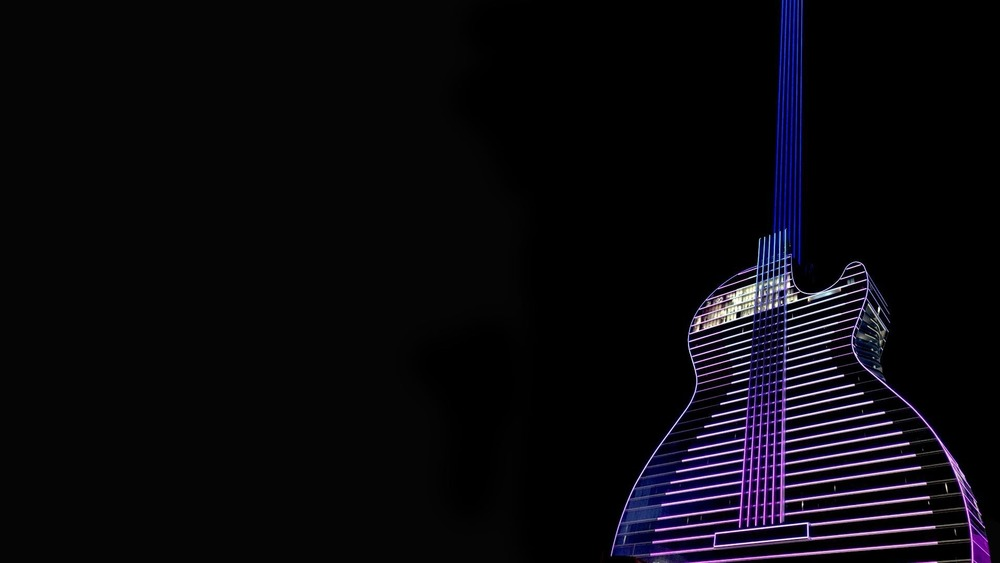 The First Guitar-Shaped Hotel in the World