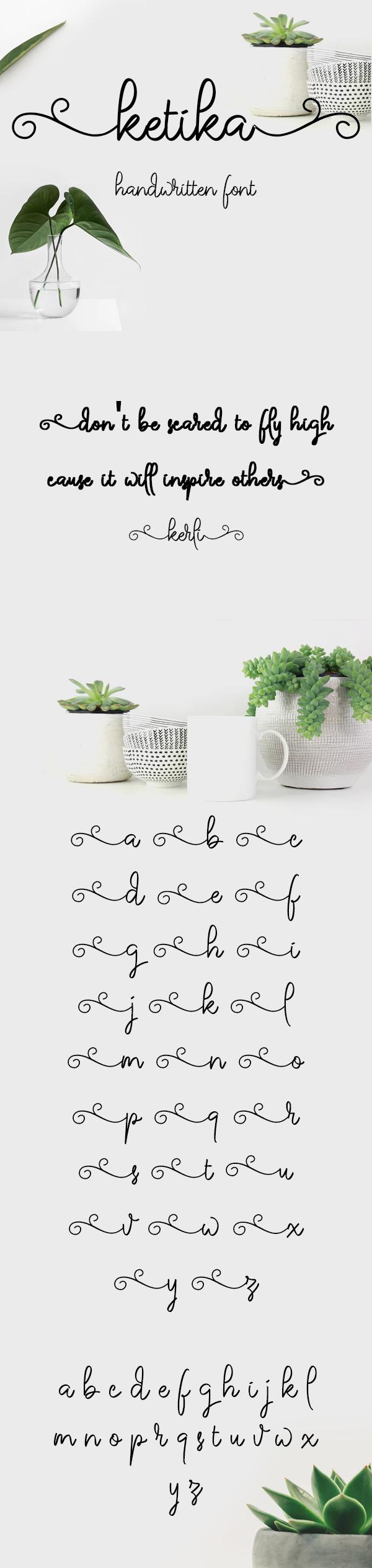 Ketika Free Font Font