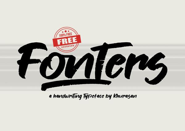 Fonters Free Font Font