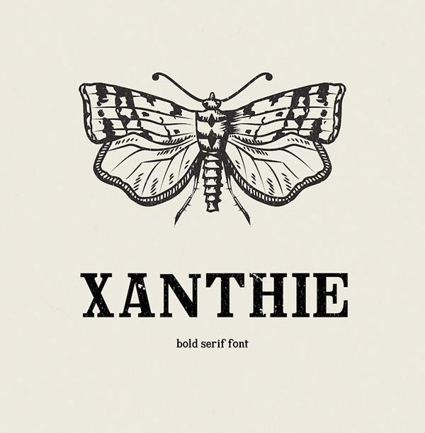 Xanthie Free Font Font