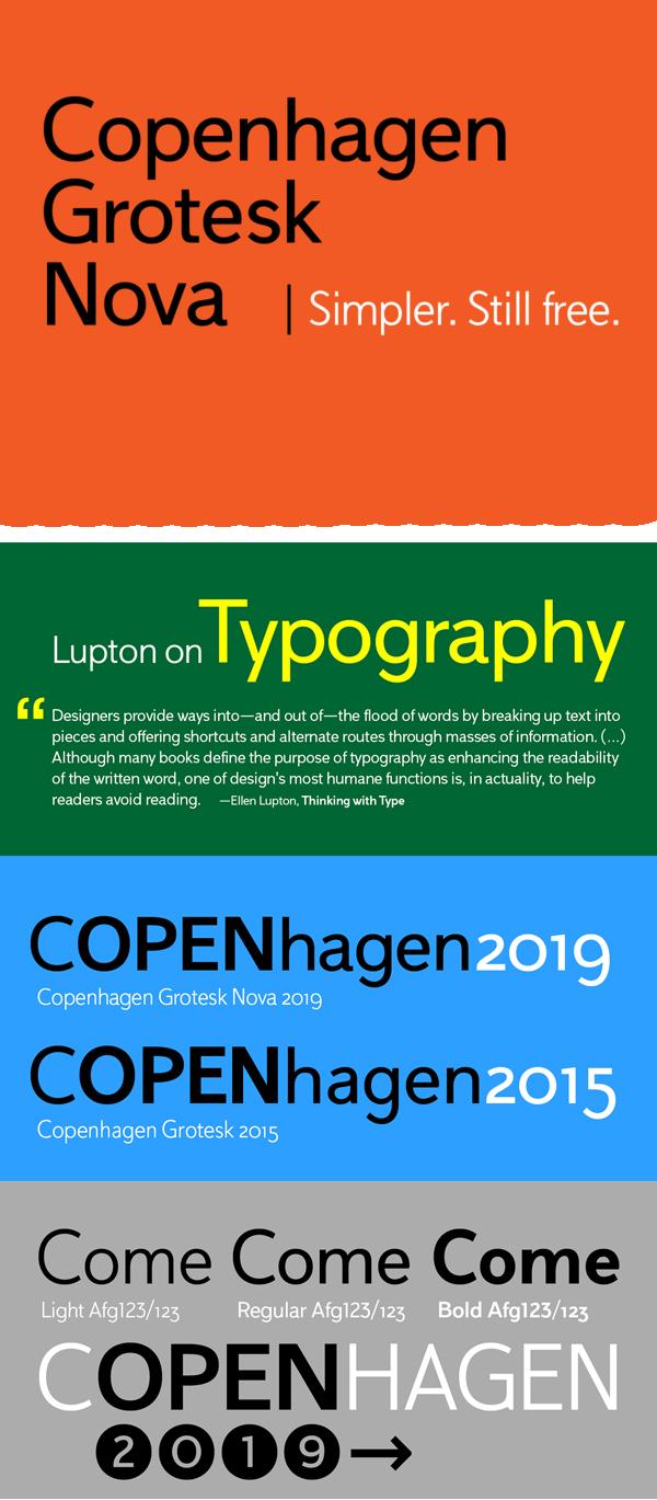 Copenhagen Grotesk Nova Free Font Font