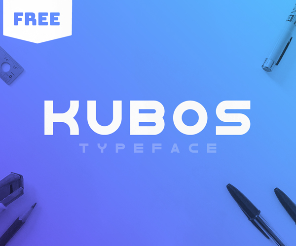 Kubos Free Font Font