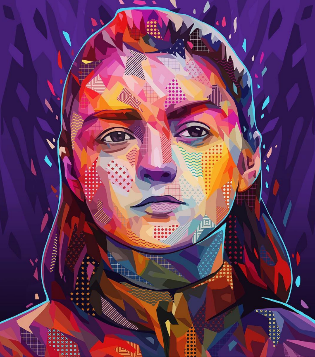 Beautiful Abstract Portraits