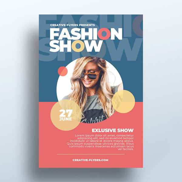 Free Flyer Template Fashion Show