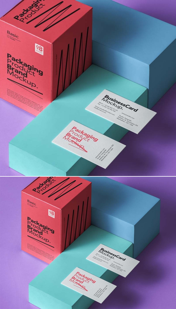 Free Product Packaging Mockup