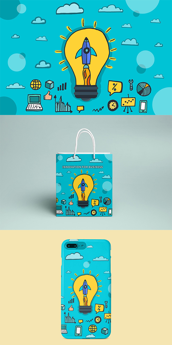 Free Innovation For Business Vector Free